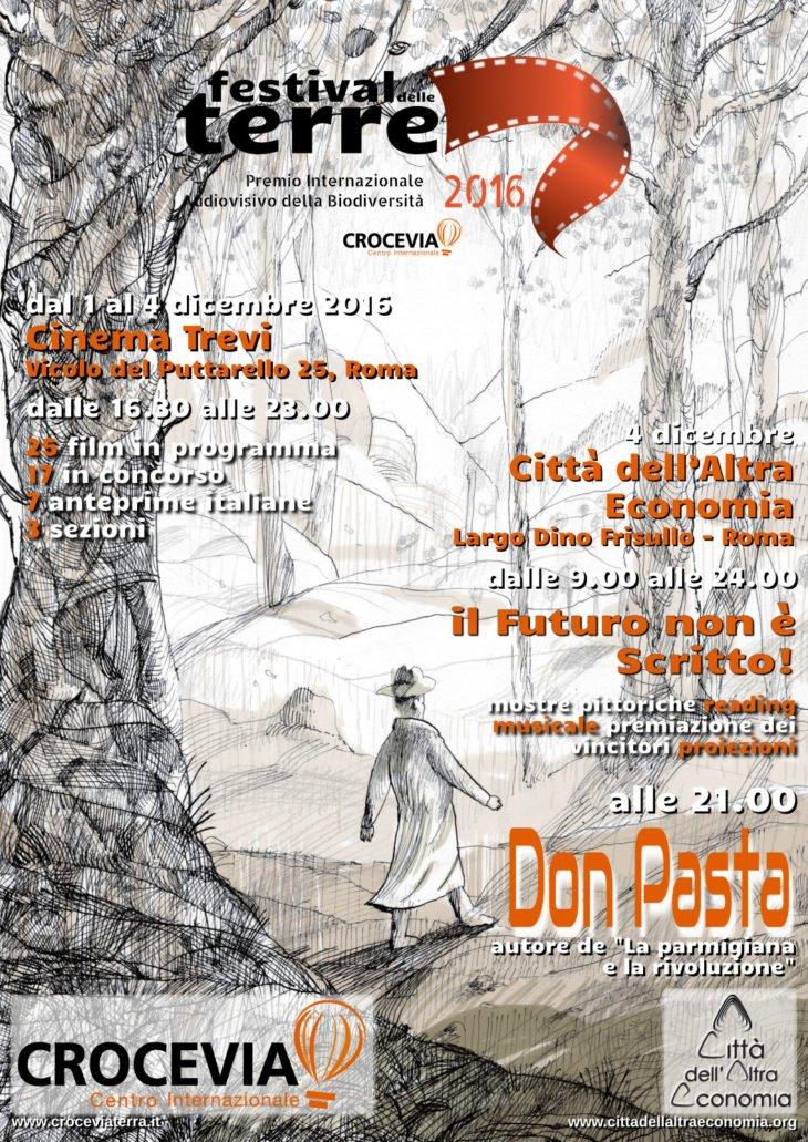 Festival delle Terre dall'1 al 4 dicembre Cinema Trevi, Città dell'Altra Economia