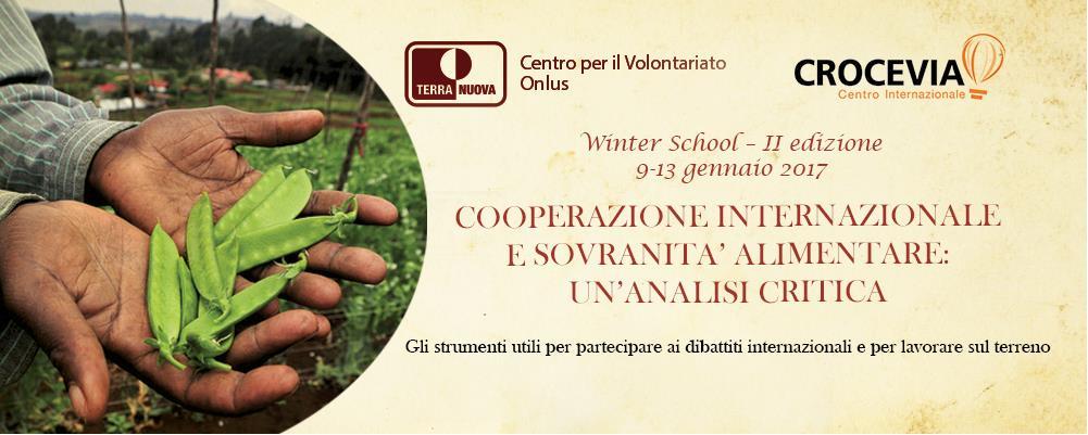 Aperte le iscrizioni per la Winter School di Crocevia e Terra Nuova 4
