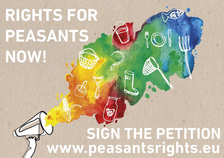 FIRMA la petizione per i Diritti dei Contadini!