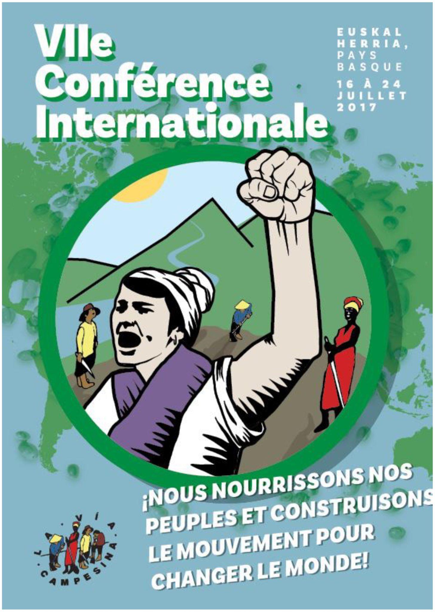 Comunicato Stampa LVC: VII Conferenza Internazionale La Via Campesina